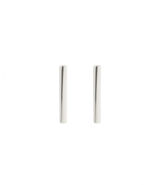 STRICT EARRING BAR SILVER