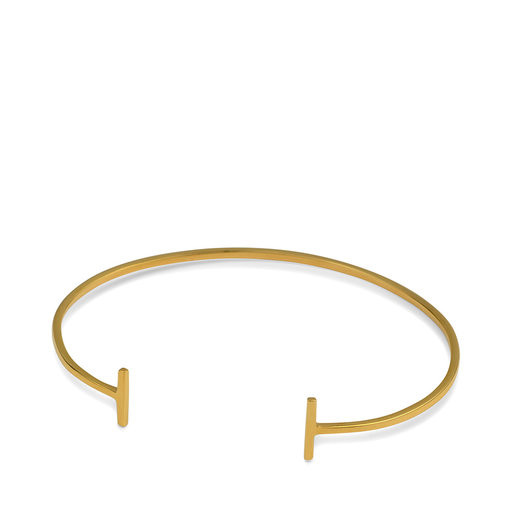 STRICT BANGLE BAR GULD