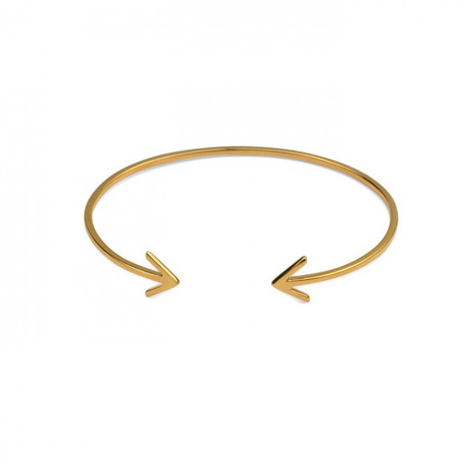 STRICT BANGLE ARROW GULD