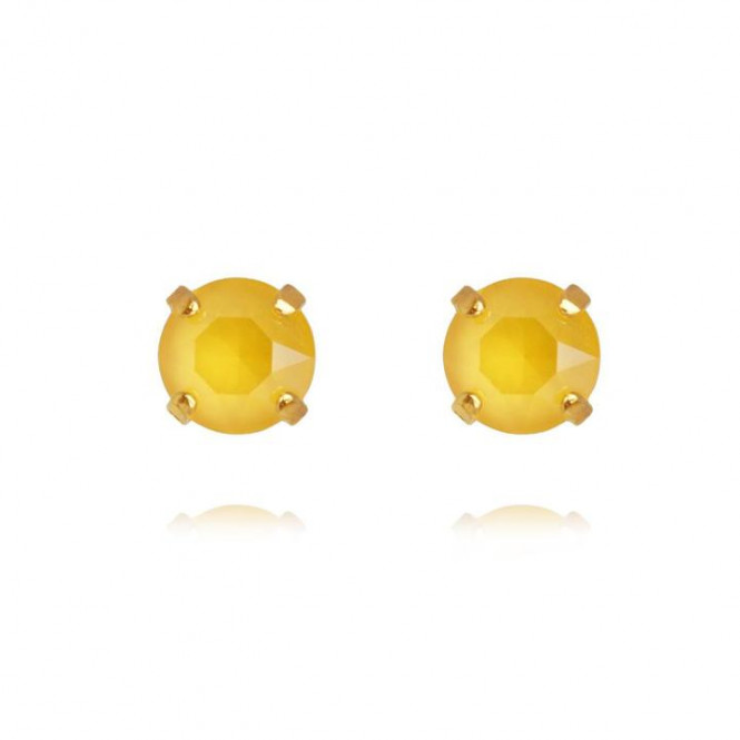 CLASSIC STUD EARRING BUTTERCUP YELLOW