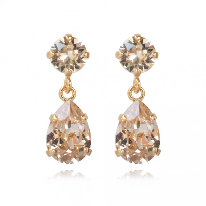 MINI DROP EARRING GULD SILK
