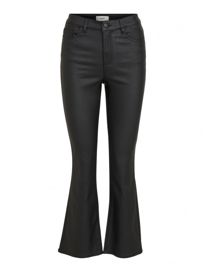 BELLE 7/8 COATED FLARED PANT