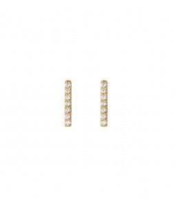 STRICT EARRING BAR SPARKEL GULD
