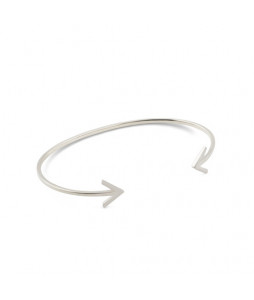 STRICT BANGLE ARROW SILVER