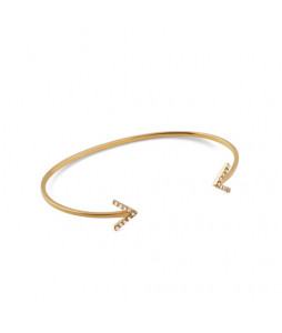 STRICT BANGLE SPARKEL ARROW GULD