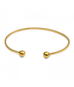 STRICT BANGLE BALL GULD