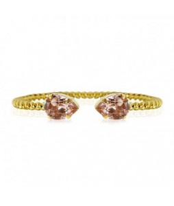 MINI DROP BRACELET GULD VINTAGE ROSE