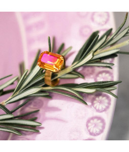 LYDIA RING ASTRAL PINK