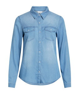 BISTA DENIM SHIRT MEDIUM BLUE